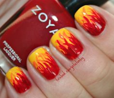 Flames using Zoya Darcy, Arizona, Sooki & Rekha