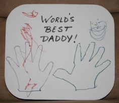 Personalized Mousepad and 15 other Father's Day gifts kids can make!