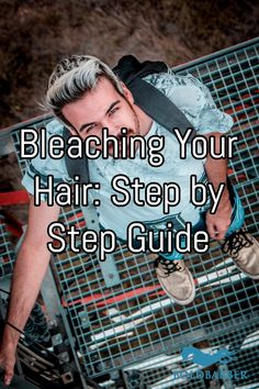 If you're about to bleach your hair there are several things you need to know first. Which is why here is our step-by-step guide to bleaching your own hair! Blonde Hair Tips, Bleaching Your Hair, Bleached Hair, Step Guide, Diy Hairstyles, Hair Hacks, Hair Care, How To Make, Hair Treatments