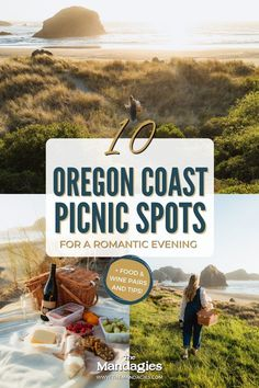 Looking for a picturesque outing with your partner in the Pacific Northwest? For Oregon Wine Month, we partnered with Portlandia Pinot to bring you 10 incredible Oregon Coast picnic spots! From rugged to romantic, we're sharing the best coastal destinations in our newest blog post. Save this post for PNW inspiration! #oregoncoast #picnic Picnic Spot, Picnic Area, Usa Travel Guide, Travel Usa, Southern Oregon Coast, Ecola State Park, Road Trip Usa, United States Travel, Canada Travel