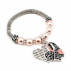 Christopher//Navy Charm. DiamondJewelryNY Eye Hook Bangle Bracelet with a St