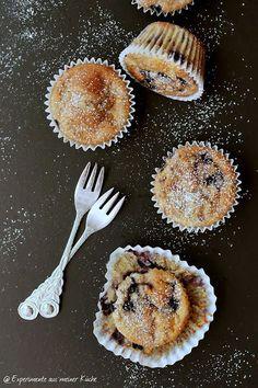 Experimente aus meiner Küche: Blaubeer-Bananen-Muffins