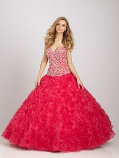 Quinceanera by Allure dress Q323 - Allure Prom Dress 2012 - NetFashionAvenue.com