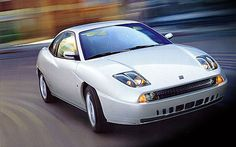 Fiat Coupe designed by Chris Bangle (you wont believe it the man who later was responsible for all the BMW designs)