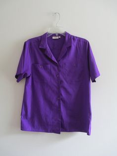 Check out this item in my Etsy shop https://www.etsy.com/listing/238619325/vintage-cesley-violet-purple-button-down