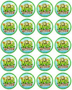 Plants Vs Zombies, Zombies Vs, Little Man Birthday, Leo Birthday, Zombie Birthday Parties, Zombie Party, Plantas Versus Zombies, Zombie Food, Plant Zombie