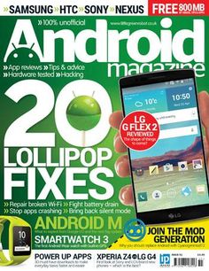 Android Magazine. Whether you're a beginner wanting to get up to speed or an advanced user looking for tips, tricks and hacks Android Magazine is the ultimate guide to this cutting-edge mobile technology. Every issue readers can find the hottest reviews of the very latest hardware and in-depth opinion on the massive selection of Android apps and games currently available.