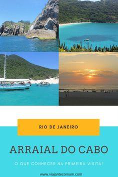 Definitivamente, Arraial do Cabo, no Rio de Janeiro, é tudo que dizem mesmo! E mais um pouco! E não é pra menos! É mar de Caribe, comida boa, gente simpática e a melhor vibe que você pode imaginar!