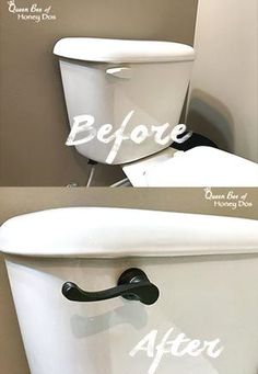 How to upgrade the toilet flush lever - How to update the toilet flush lever . - How To Upgrade Toilet Flush Levers – How To Update Toilet Flush Levers – DIY – Bathroom – H - Home Improvement, Diy Home Improvement, Home Remodeling, Diy Bathroom Decor, Home Renovation, Bathroom, Toilet, Bathroom Decor, Bathroom Redo
