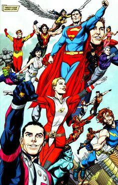 The Legion of Superheroes  by Gary Frank
