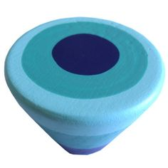 Cubboard Door/Drawer knobs Drawer Kitchen Furniture wooden handle with colorful turquoise blue rings Pommo Designs http://www.amazon.co.uk/dp/B0095I7WAO/ref=cm_sw_r_pi_dp_bXs2tb0NN7Z1QZ98