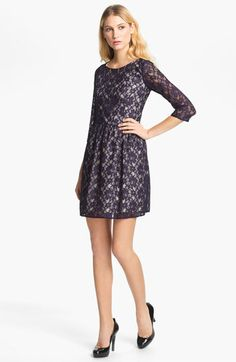 French Connection 'Lizzie' Lace Dress available at #Nordstrom    Snowball