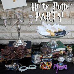 Harry Potter Party!  Decorations, Games and Treats!