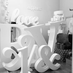BIG letters made by www. Big Letters, Papercutting, Low Poly, Origami, Symbols, Sculpture, Templates, Tips, Model