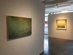 "TWISTED TRYST (l-r) James Edward Scherbarth, James Holmberg ""Light/Depth, Green and Yellow"""