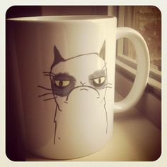 Wordless Wednesday: Grumpy Cat Mug