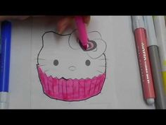 Hello Kitty Dot to Dot and Coloring Pages For Kids