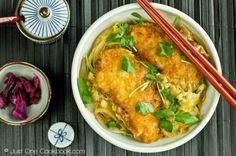 Chicken Katsu Donburi Recipe チキンカツ丼