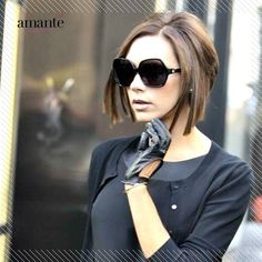 A bob cut is a great way to change your look for the upcoming festive season. Take inspiration from the very Posh Victoria Beckham.