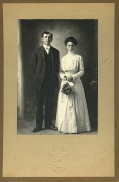 Wedding of Mamie Josephine Bryant and Robert Wesley Frost, February 24, 1908