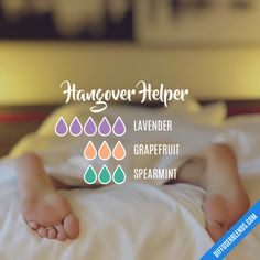 Hangover Helper - Essential Oil Diffuser Blend