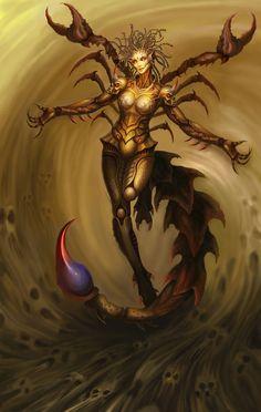 沙漠女王, fantasy creatures