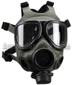 Gas mask and safety equipment and gas mask related items from Approved Gas Masks - we specialize in the sale of government and military-grade gas mask gear, protective suits, potassium iodide, and all your domestic preparedness supplies Emergency Preparation, Survival Prepping, Emergency Preparedness, Survival Gear, Tactical Gas Mask, Tactical Gear, Gas Mask For Sale, Tactical Survival, Mascaras
