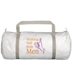 Working Well With Men Gym Bag