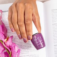 #NailCare is self-care. Treat yourself to a ruby rich gel mani and let your inner #MultiDimensionalDiva shine bright! #ColorIsTheAnswer #OPIHighDefGlitters #GlitterMani #OPIGelColor #GelMani #GelNails #GlitterNails #SummerNails #PurpleNails Opi Gel Nails, Nail Cuticle, Sparkle Nails, Glitter Nail Polish, Manicure, Interview Nails, Party Nails, Professional Nails, Gel Color