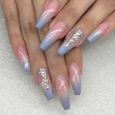 Amazing Ideas For Rhinestones Nail Perfection #naildesignsjournal #nails #rhinestonesnail