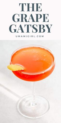 Meet The Grape Gatsby, an incredibly happy-making craft cocktail with Aperol and champagne created by Lukas Bernleithner for Der Dachboden at Hotel in Vienna. Craft Cocktails, Fun Drinks, Yummy Drinks, Alcoholic Drinks, Beverages, Easy Mocktails, Unique Recipes, Delicious Recipes, Yummy Taco