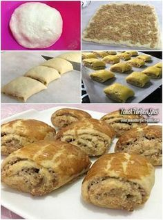 75 Best Weight Watchers Recipes - perfect for weight loss meal planning! Walnut Cookie Recipes, Walnut Cookies, Tea Time Snacks, Roll Cookies, Turkish Recipes, Fish Dishes, Weight Watchers Meals, Muffin, Food And Drink