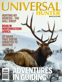 Universal Hunter Fall Issue Focuses on Passing Along the Hunting Tradition