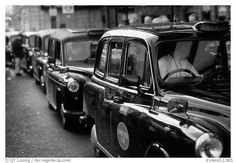 #London black cabs