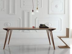 Oblique Extendable Dining Table