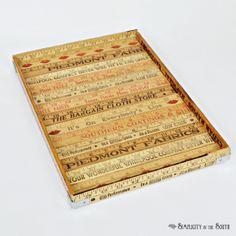 yardstick or ruler tray tutorial