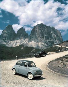 Fiat 500: Einst fuhren mit dem Minimobil ganze Familien in den Urlaub. © Reuters