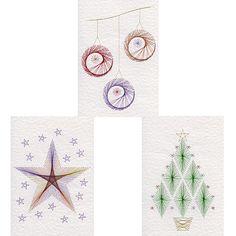 Form-A-Lines Stitching Cards Christmas Set No. 26