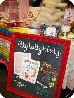 Craft Show Tips {Display Ideas}