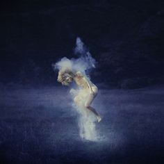 photography, brooke shaden -- love the photo work I've been seeing with baby powder and paint powder