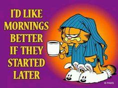 Garfield morning