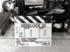 S3 E2 - The Sign of Three!!! They've started filming!!!!!!!!!!!