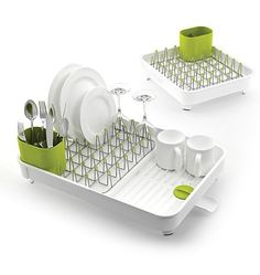 Joseph Joseph Expandable Dishrack With Draining Plug - The Home Essentials