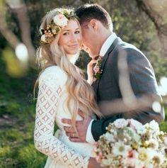Love! bohemian bride ❤