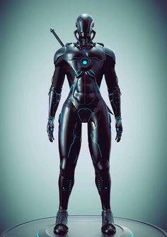 Yasha by Rakan Khamash | Robotic/Cyborg | 3D | CGSociety