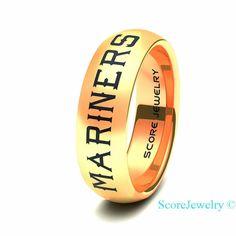 Detroit Tigers Wedding Rings
