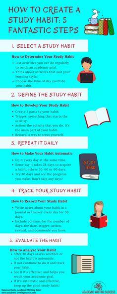 A Comprehensive Tutorial on How to Create Effective Study Habits – Academic Writing Success - Bildung Exam Study Tips, School Study Tips, Study Hacks, School Tips, Academic Goals, Academic Writing, Writing Tips, Effective Study Tips, Good Study Habits