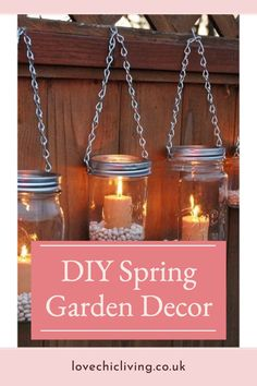 Amazing DIY spring garden decor ideas that will bring Easter to your home! These easy to craft garden ideas are a great way to get your kids involved with decorating the garden and are fun DIY Spring Garden Projects for the whole family! Decorate your garden for the new season and get ready for the fresh start that comes with Spring!s Easter Garden, Spring Garden, Fresh Start, The Fresh, Garden Projects, Garden Ideas, Contemporary Garden Rooms, Garden Makeover, Easter Weekend