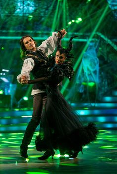 Strictly Come Dancing 2015 - Week 6 Halloween - Anita and Gleb