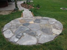 Rock Patio | Mom Has Always Wanted A Flagstone Patio. For Motheru0027s Day This  Year
